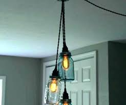 Plug In Swag Pendant Light 1 Lamp