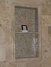 ceramic tile shower niche interior design ideas