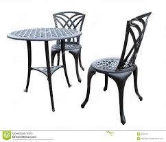 Patio Chairs And Table Stock Photo. Image Of Outdoor, Patio ...