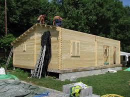 chalet en kit habitable prix chalet habitable de 70m2 en bois en kit