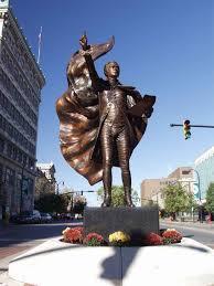 Hamilton Ohio Pumpkin Festival by Alexander Hamilton Statue In Downtown Hamilton Ohio Www