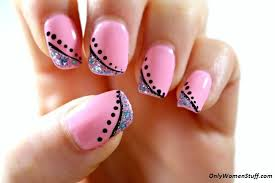 Easy Nail Art Designs For Beginners At Home Without Tools To Do Step By