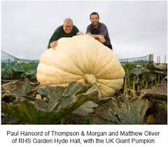Heaviest Pumpkin Ever by Royal Horticultural Society Have A Go At Growing And Showing A