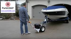 RV Trailer Electric Powered Trailer Dolly, Trailer Mover For Boat Or ...