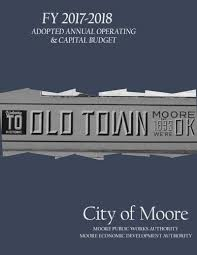 City Budget | City Of Moore