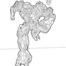 Transformers Sqweeks Lockdown Coloring Page