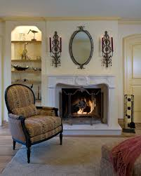 Diy Wall Candle Sconce Family Room Victorian With Decor Traditional Fireplace Surround