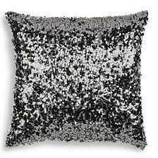 24 X 24 Patio Cushion Covers by Decorative Bling Silver Black Coffee Throws Cases Modern Simple