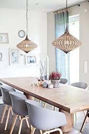 licht an speisezimmereinrichtung esszimmer dekor ideen