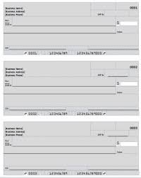 Blank Check Template & Deposit Form