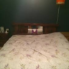 Queen Size Waterbed Headboards by Best King Size Waterbed Frame And Headboard Used For Sale In