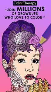 Color Therapy Free Adult Coloring Book For Adults Screenshot