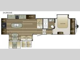 Fifth Wheel Bunkhouse Floor Plans by Keystone Cougar Fifth Wheel General Rv
