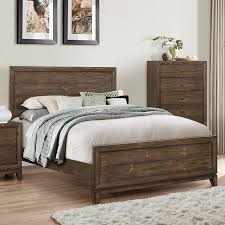 bedroom queen bed frame with headboard and footboard brackets