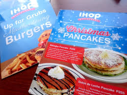 Ihop Free Halloween Pancakes 2012 by Ihop Bonifacio Global City Goes 24 7 From December 16 To January 3