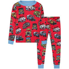 100 Monster Truck Pajamas Hatley Boys S Organic Cotton Pajama Set Nicoles For