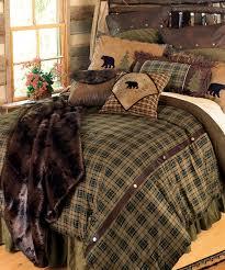 Cabin Bedding Alpine Bear