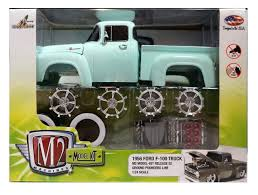 Amazon.com: New 1:24 MODEL-KIT RELEASE 2 - 1956 FORD F-100 TRUCK ...