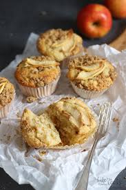 apfelkuchen streusel muffins bake to the roots