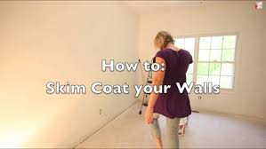 Skim Coat Ceiling Vs Plaster Ceiling by Skim Coat Ugly Textured Walls Magic Trowel Youtube
