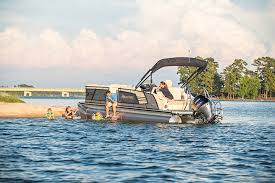 Aqua Patio Pontoon Bimini Top by Ap 235 El Aqua Patio Godfrey Pontoon Boats