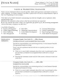 Management Objectives For Resume Examples