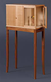 Cabinet On Stand 10 1 4 In Deep By 23 Wide 45 Tall Was Sebrees Final Project At The Inside Passage School Of Fine Woodworking