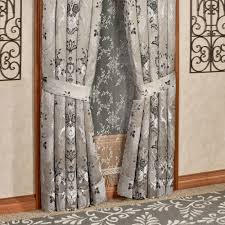 Alessandra Smoke Gray Window Treatment by J Queen New York