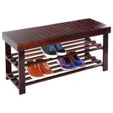 Outdoor Shoe Rack Bench