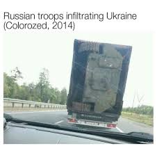 Russian Troops Infiltrating Ukraine (Colorozed 2014) | Funny Memes ... 31 Most Funny Truck Photos And Images Bangshiftcom More Wintertime Fun Semitruck Donuts In The Snow This Cake Has A Semi Pictures Lol Tribe Pia Virginia Fortmller All The Things To Be Thankful For In October Spotted This Truck At Home Depoti Dont Even Know Where Begin Dogs Behind Wheel Of Large Automobile Semi Shockwave Custom Quotes Funny Fattie Wisdom Complete Trailer Hitch Accsories