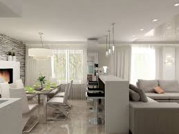 einrichtungsideen für wohnzimmer mit offener küche wohnung