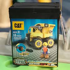 100 Caterpillar Dump Truck Toy State CAT Junior Operator Construction