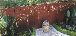 Decorative Garden Fence Panels Gates by Urban Design Systems Laser Cut Screens Landscape Screening