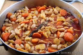 recette haricots blancs secs à la tomate la cuisine familiale