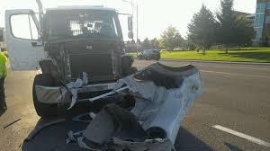 Ironic-Rollback Tow Truck Involved In Significant Crash
