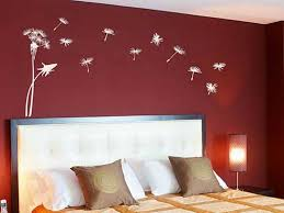 Red Bedroom Wall Painting Design Ideas Mural Pinterest