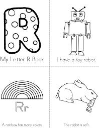Letter R Books Twisty Noodle