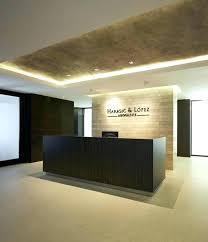 Modern Reception Desk Design Desks Inspiration Hotel