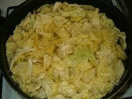 potée au choux vert et roti à la moutarde la cuisine ma