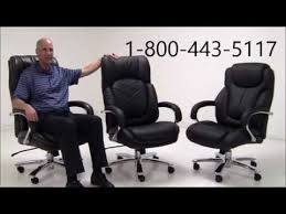 Hercules 500 Lb Office Chair by 500 Lbs Capacity Leather Executive Big U0026 Tall Chair Youtube