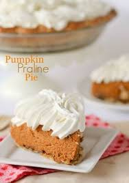 Pumpkin Pie With Pecan Praline Topping by Pumpkin Pie With Toasted Pecan Praline Topping She Wears Many