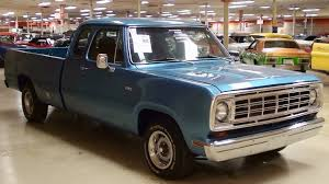 1974 Dodge D100 5.7 Hemi V8 Five Speed Auto Custom Pickup - YouTube