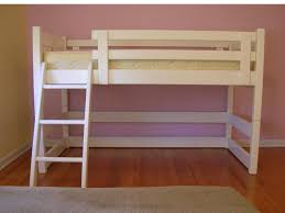 Low Loft Bed With Desk by Free Woodworking Plans To Build A Twin Low Loft Bunk Bed Www