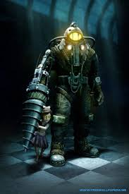 Bioshock 2 iPhone wallpaper For more Bioshock and other vi…