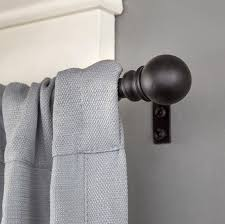 Walmart Mainstays Magnetic Curtain Rod by Better Homes And Gardens Adjustable Bracket For 3 4