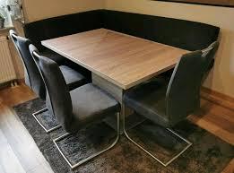 eckbank esszimmer tisch stühle eiche sonoma hell neuwertig