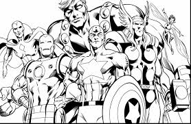 Avengers Coloring Pages Captain America Page At Free Printable