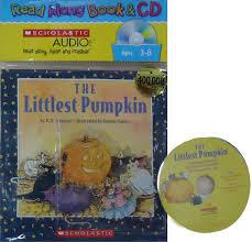 Spookley The Square Pumpkin Book Cover by Littlest Pumpkin R A Herman Betina Ogden 9780439895552
