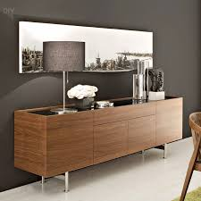 Living Room Buffet Solid Oak Sideboard Small Dining