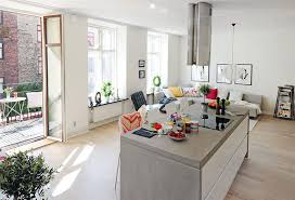 Open Plan Kitchen Living Room 20 Best Small Design Ideas 19 845x577